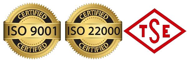 sertifikalarımız